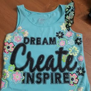 Justice Shirts & Tops - 5/$25-Justice Dream Create Inspire Tank